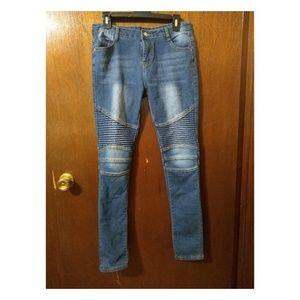 649cdfae340f Denim - Women's Moto Stretch Skinny Jeans